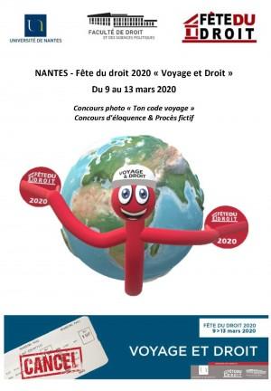 Nantes - 9 et 10 mars 2020